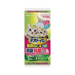 4520699612415Unicharm Pet一週消臭尿墊多貓用8入
