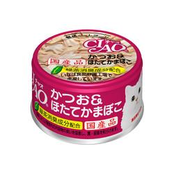 4901133061264CIAO 旨定罐13號(鰹&干貝) (85g*24罐/箱)