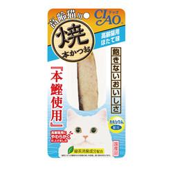 4901133636257CIAO本鰹燒魚柳條高齡貓干貝味30CI-HK-22