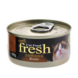 4712257320102(E)紐崔克(貓)罐(糊狀)香滑鰹魚肉泥80g