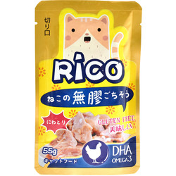 4713616703543(E)RICO無膠鮮餐包-全嫩雞85g
