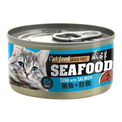 2302020310922(E)藏鮮營養貓餐罐-鮪魚+鮭魚85g