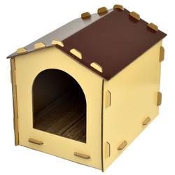 2302089006156(E)台灣製造幸福貓屋-巧克力色
