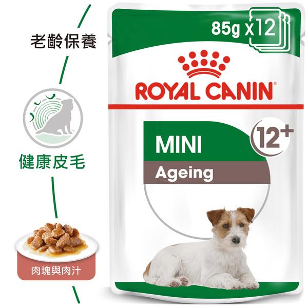 9003579008287皇家(犬)小型老犬12+濕糧 MN+12W 85G