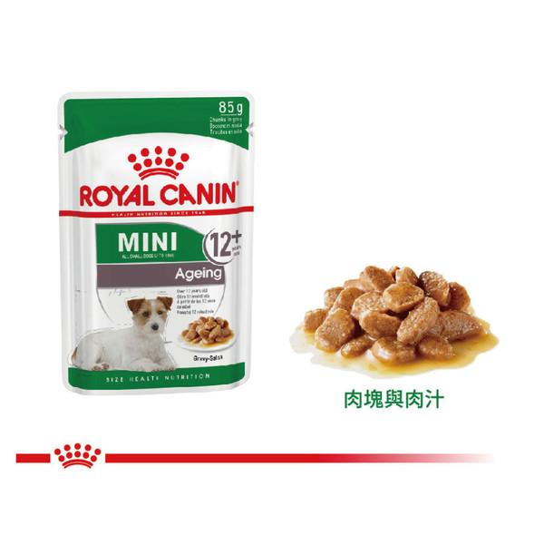 【法國皇家 ROYAL CANIN】小型老犬12+濕糧 MN+12W 85G