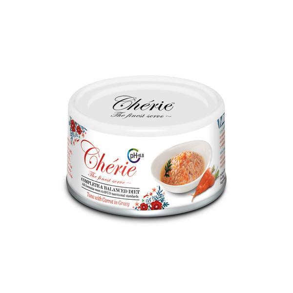 4712937600739法麗(貓)主食罐泌尿道保健鮪魚佐紅蘿蔔罐80g