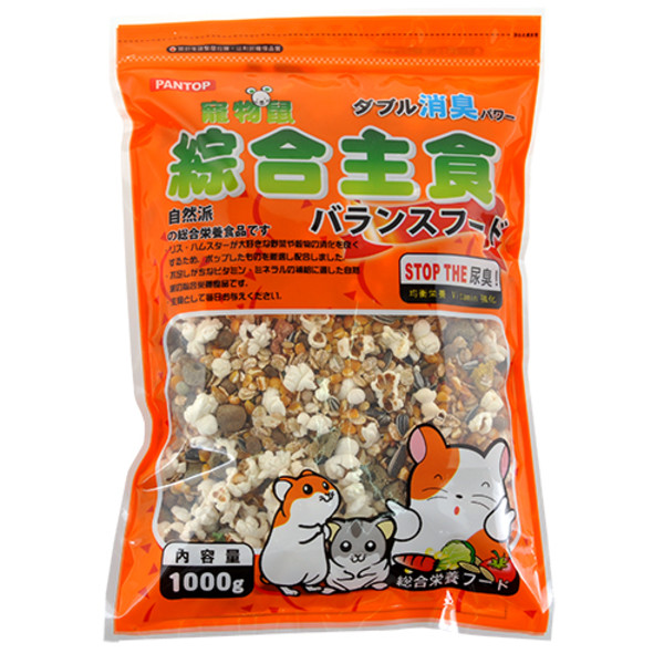 【PANTOP邦比】寵物鼠綜合主食1000g