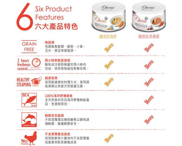 4712937601125法麗(貓)主食罐泌尿道保健雞肉佐南瓜罐80g