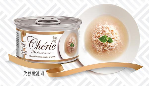 4712937600357法麗湯汁系列天然黃鰭鮪佐正鰹鮮蝦貓罐80g