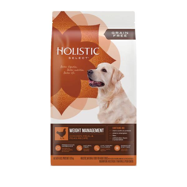 【活力滋 Holistic Select】無穀成犬雞肉體重控制管理4lb