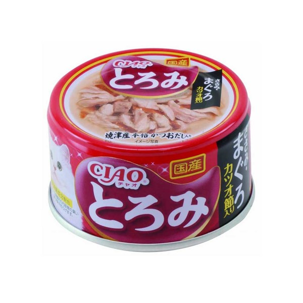 4901133061769CIAO多樂米濃湯罐(雞肉+鮪魚+柴魚片)80g