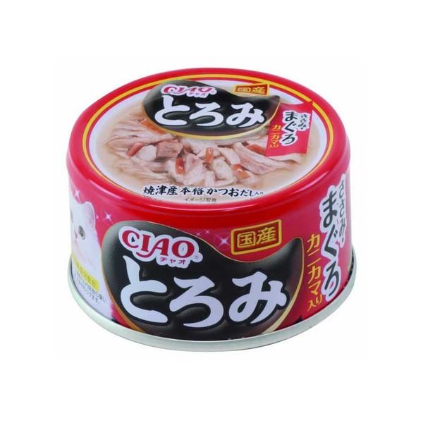 4901133061776CIAO多樂米濃湯罐(雞肉+鮪魚+蟹肉棒)80g