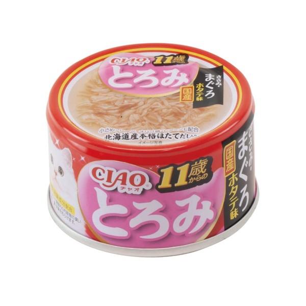 4901133061806CIAO多樂米濃湯罐-11歲(雞肉+鮪魚+扇貝)80g