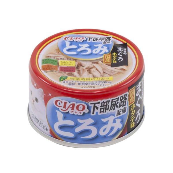 4901133062599CIAO多樂米濃湯罐-下部尿路(雞肉+鮪魚+扇貝)80g