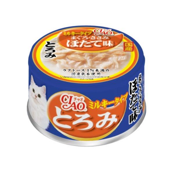 4901133062360CIAO多樂米特濃湯罐(鮪魚+雞肉+干貝)80g