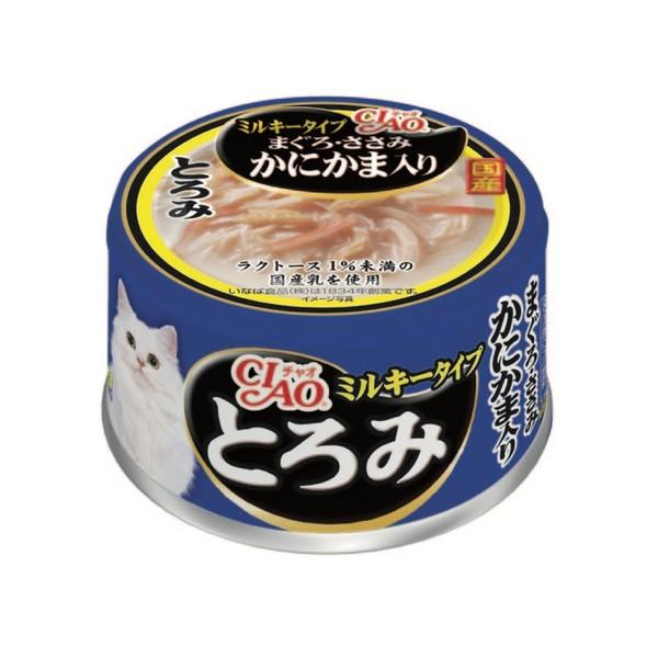 4901133062377CIAO多樂米特濃湯罐(鮪魚+雞肉+蟹肉棒)80g