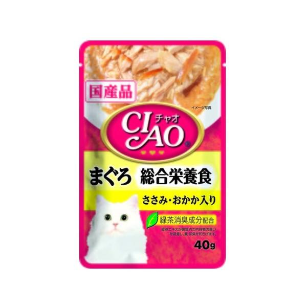 4901133619915CIAO巧餐包鮪魚綜合營養食40g