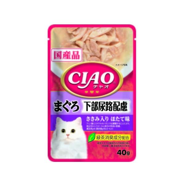 4901133620102CIAO巧餐包鮪魚下部尿路40g