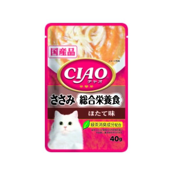 4901133614385CIAO巧餐包雞肉綜合營養食40g
