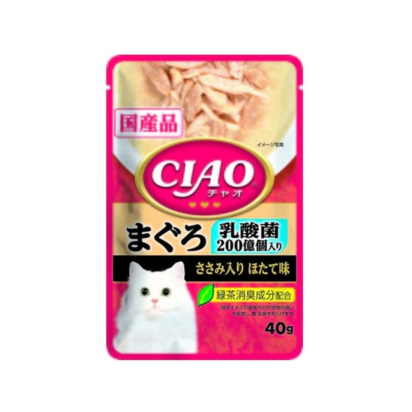 【CIAO】巧餐包鮪魚乳酸菌40g