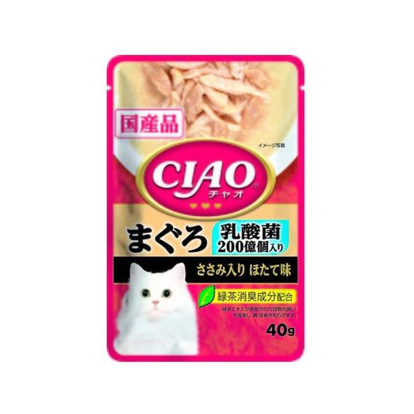 4901133620881CIAO巧餐包鮪魚乳酸菌40g
