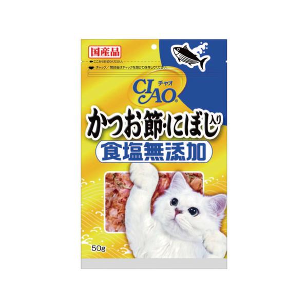 【CIAO】食鹽未添加柴魚片點心(沙丁魚)50g