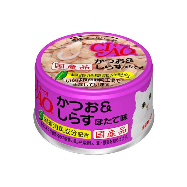 4901133061257CIAO 旨定罐12號(鰹&干貝&?) (85g*24罐/箱)
