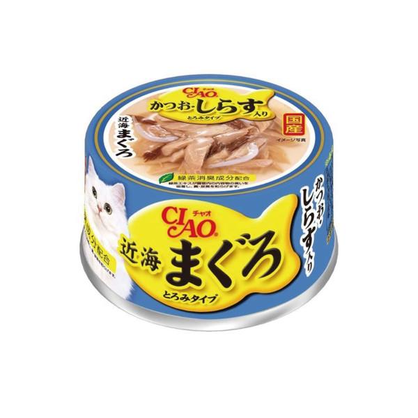4901133865916CIAO 近海罐 (鰹+小魚) (80g*24罐/箱)