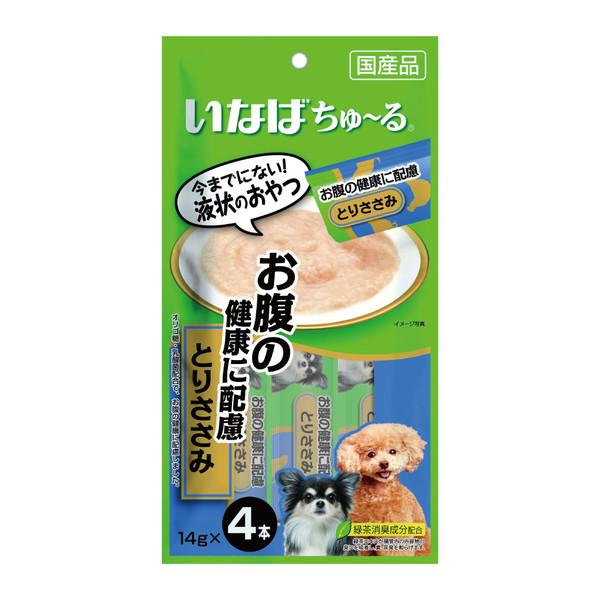 4901133736674INABA汪啾嚕(犬)肉泥腸胃健康配慮(雞肉)14g*4入