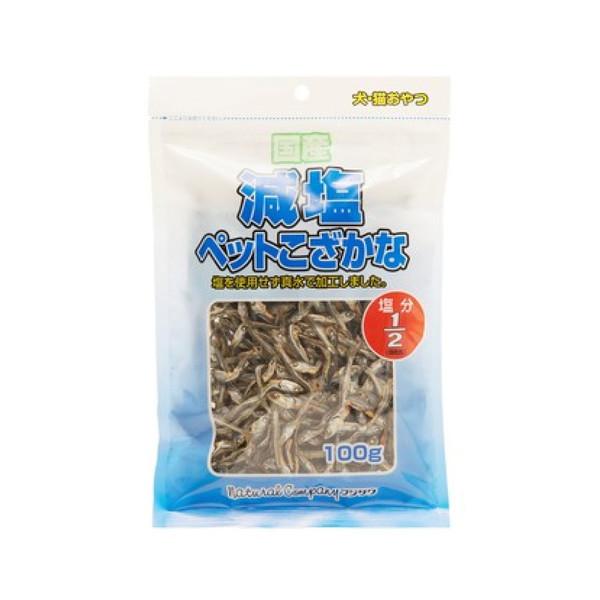 【藤沢 フジサワ】減鹽寵物小魚100g