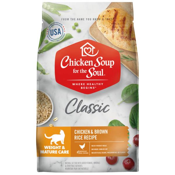 【心靈雞湯】經典四鮮肉熟齡貓低脂化毛4.5磅