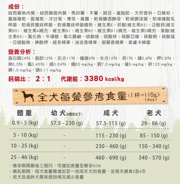 1423007600 森鮮VENISON全犬-魚肉全配方