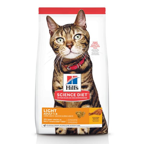 【Hill's 希爾思】低卡配方 成貓 雞肉 2公斤