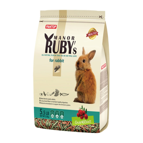4716609942110(E)邦比莊園寵物兔糧(蔓越莓)2.5kg