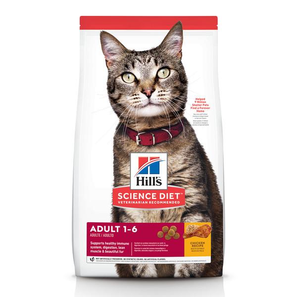 52742004860【Hills 希爾思】成貓 雞肉 4公斤