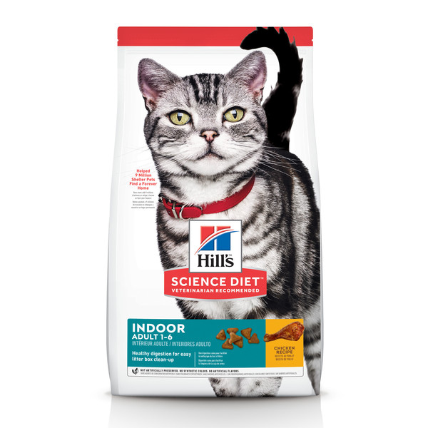【Hill's 希爾思】室內成貓 雞肉( 1.58公斤/7.03公斤)