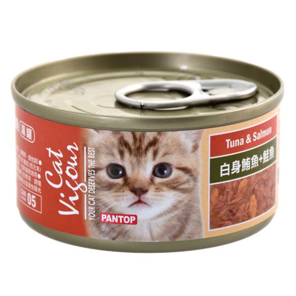 4716609944725(E)邦比貓餐罐-白身鮪魚+鮭魚80g