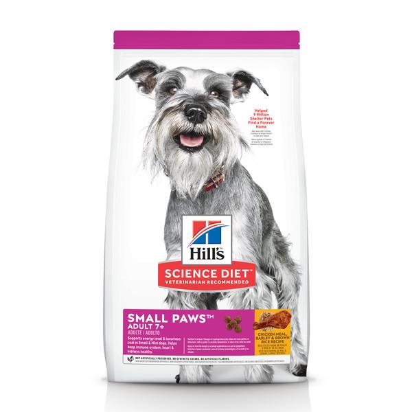 【Hill's 希爾思】小型及迷你 熟齡犬 雞肉與米 1.5公斤/7.03公斤