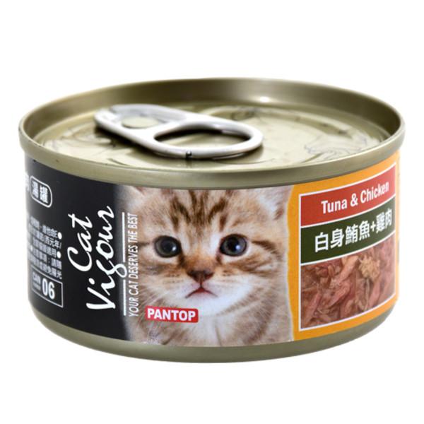 4716609944732(E)邦比貓餐罐-白身鮪魚+雞肉80g