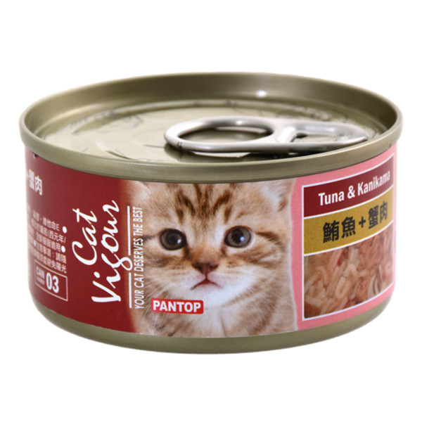 4716609944701(E)邦比貓餐罐-鮪魚+蟹肉80g