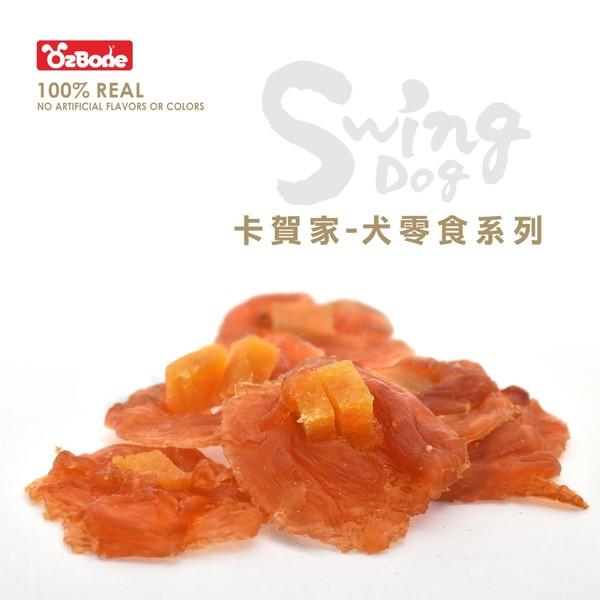 4712257320591(E)OB卡賀家犬零食-純雞肉起司丁圓片130g