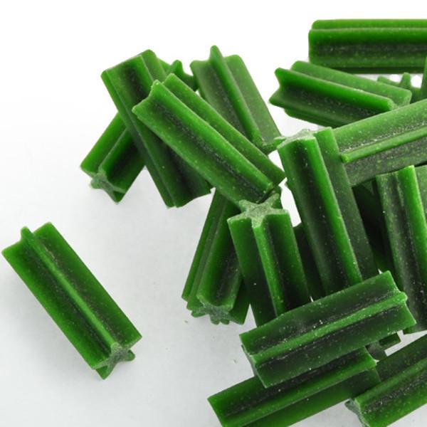 4716609943223(E)優沛特潔牙骨-葉綠素風味4cm1000g/NO.3