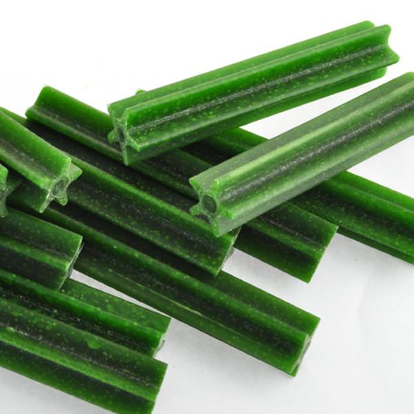 4716609943230(E)優沛特潔牙骨-葉綠素風味8cm1000g/NO.4