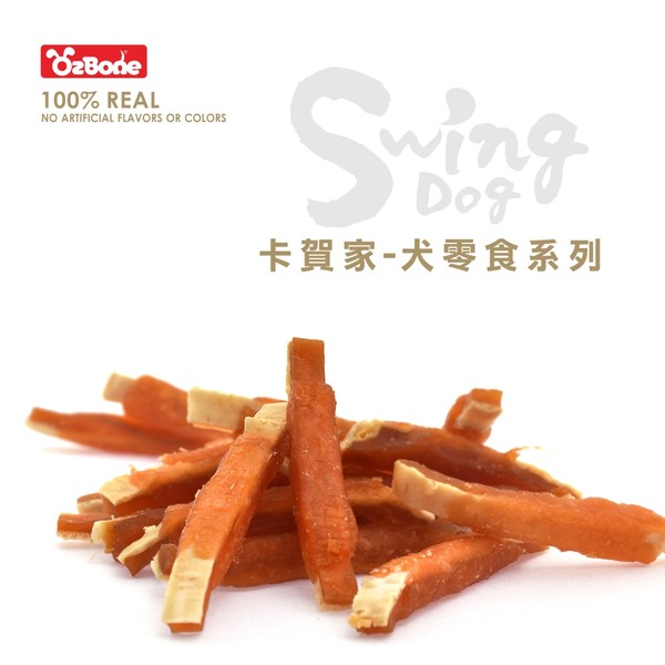 4712257320683(E)OB卡賀家犬零食-香Q鱈魚雞肉捲150g