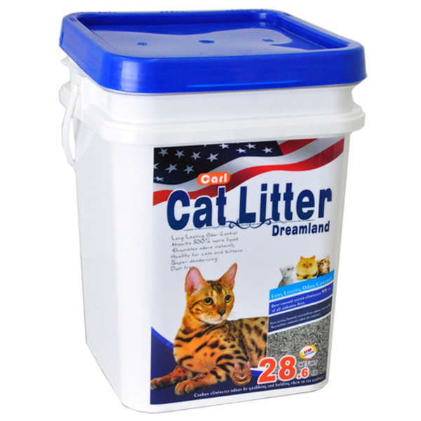 2302612100023(E)卡爾天然原礦多功能貓砂13kg(微香)