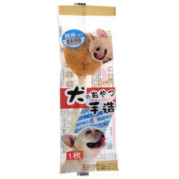 4712257325794(E)紐崔克-棒棒糖犬點心-鱈魚+雞肉/單支