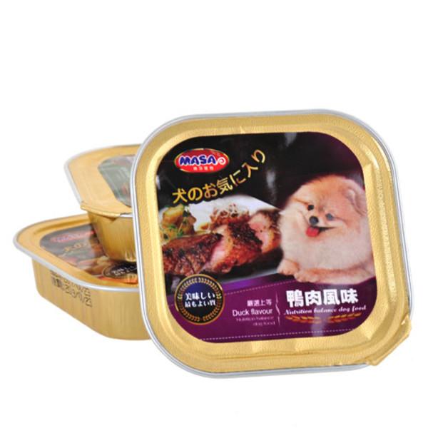 4716609943810(E)瑪莎犬用餐盒-鴨肉風味100g/A012-1C