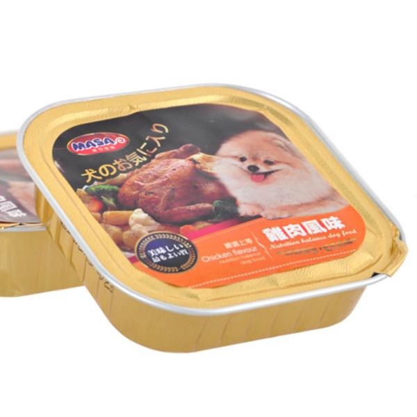4716609943797(E)瑪莎犬用餐盒-雞肉風味100g/A012-1A