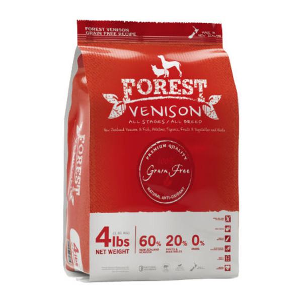 【森鮮VENISON】無穀天然糧配方 全犬鹿肉配方(60g/450g/4lb/15lb/33lb)