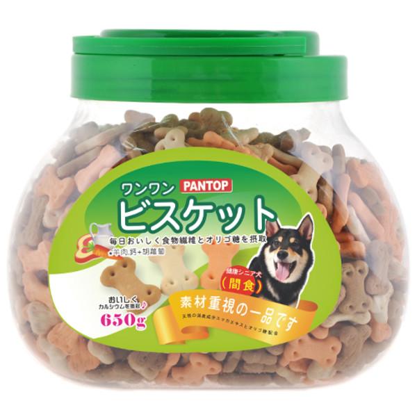 【PANTOP邦比】減臭骨型餅 650g  共三種口味